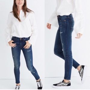 "Madewell 9"" High Rise Skinny: Distressed Edition"